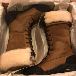 Brand new ugg Adirondack tall 7.5 chestnut